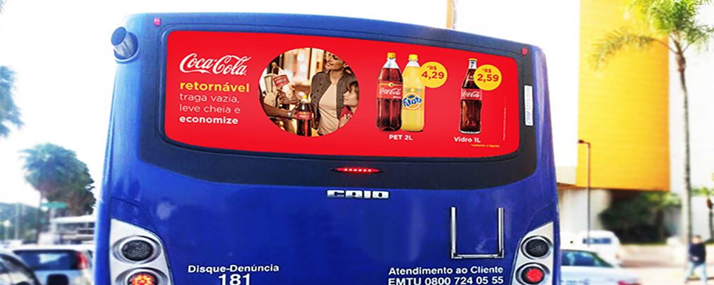 Busdoor em Ribeirão Pires