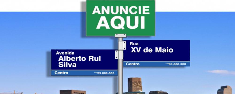 Placa de Esquina em Itaquaquecetuba